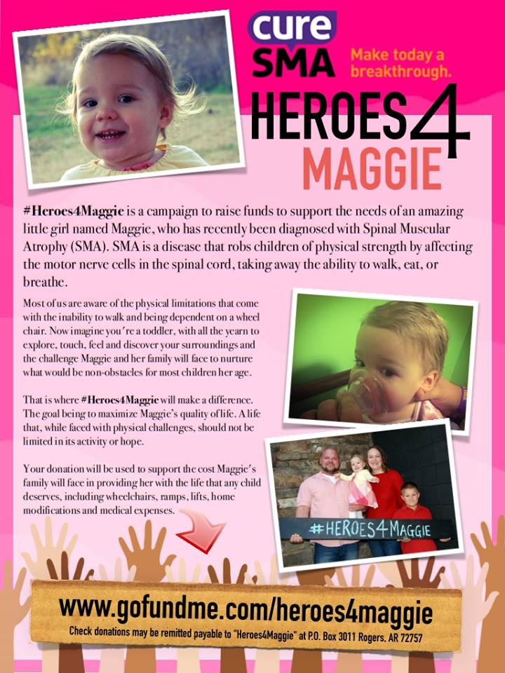 Why Maggie and Her Family are SO Precious to Us. – Cure SMA