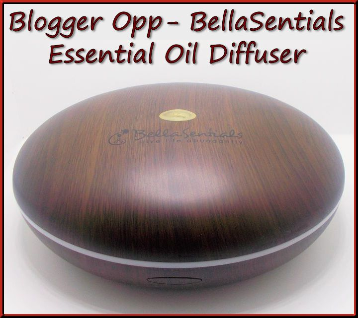 Blogger Opp BellaSentials Essential Oil Diffuser