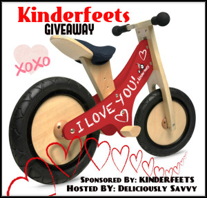 Kinderfeets Classic Push Bike GIveaway