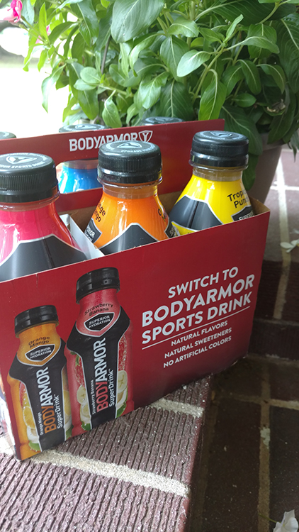 New BODYARMOR Sports Drink is not only tastey but good for you too