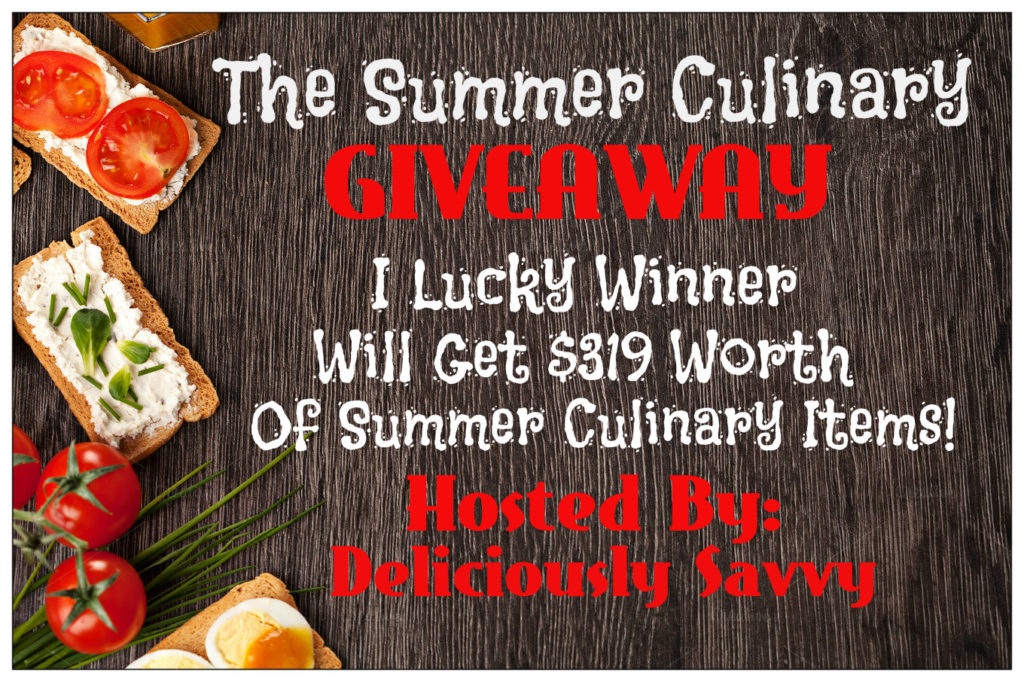 The Summer Culinary Giveaway! RV$400 #Free & #Paid Options Available (Sign Ups Close 7/19)
