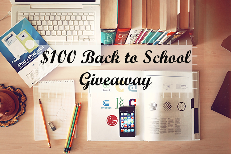 $100 Back to School PayPal Giveaway!