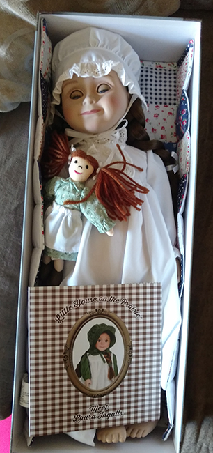 Laura Ingalls Wilder Doll