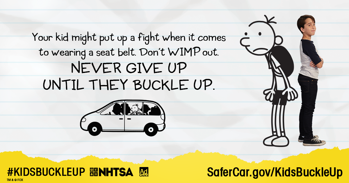Do Your #KidsBuckleUp Like They Should?