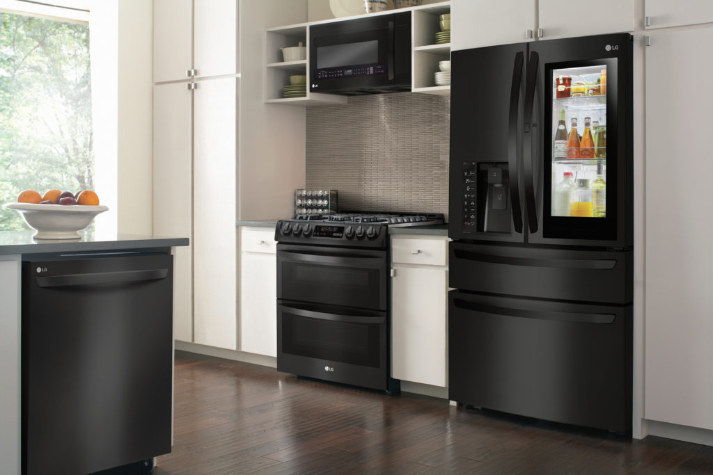 Start Christmas Early with the LG Matte Black Appliances ...
