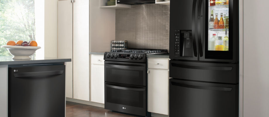 Start Christmas Early with the LG Matte Black Appliances – Save $350!